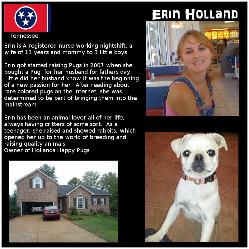 Erin Holland Breeder Biography