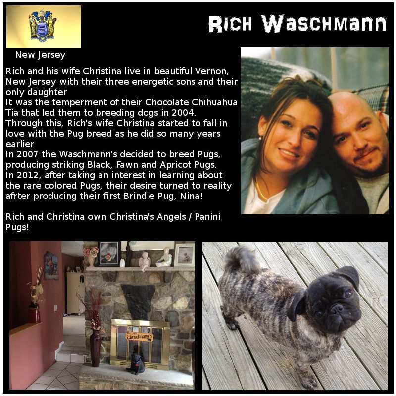 Rich Waschmann Breeder Biography